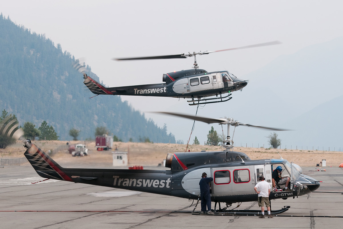 Transwest Helicopters 1968